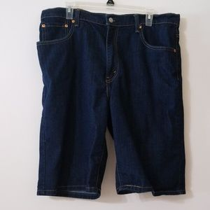 Levi Dark Wash Men's Jean Short
